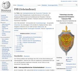 FSB Russischer Geheimdienst
