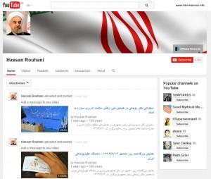 Hassan Rouhani auf YouTube