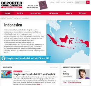 Internetzensur Indonesien