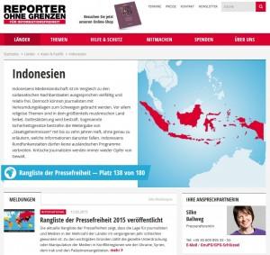 Internetzensur Indonesien