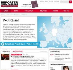 Internetzensur Deutschland