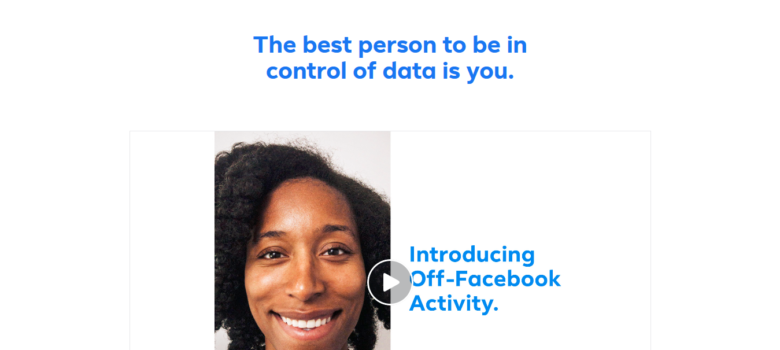 Off-Facebook Activity Tool